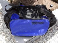 Waterproof duffle bag for carrying on broad fishing