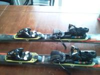 FOR SALE: 165cm Salomon Scrambler 7P skis with Salomon