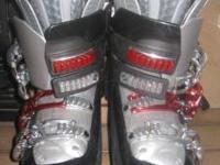 Women's Salomon Downhill Ski Boots - $100.00 ( I wear