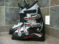 Selling last year's Salomon Pulse Performa Boots size