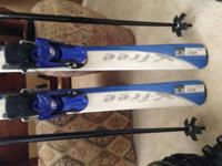Never ever used. Salomon Women's Ski Set, Length is