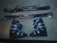 I am selling my Salomon Snowblades and boots. These are