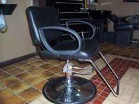 2 ALL PURPOSE SALON CHAIRS. LIKE BRAND NEW NO HOLES IN