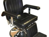 "Barber Chair PL112 ""Features: - Metal frame with 15mm"