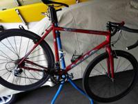 This bike is Cyclocross Race Ready. 53cm Scandium Frame