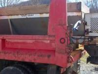 "Sno-Way ""V"" spreader. Good condition, runs good. Comes"