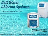 Honey Spas sells and installs AquaCal Pool Pilot Salt