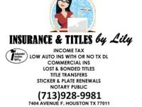 Insurance &Titles by Lily