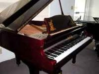 "I am selling my Samich 5'8"" Baby Grand piano. It was"