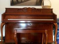 "I have a 43"" upright piano. It is made by SAMICK. A"