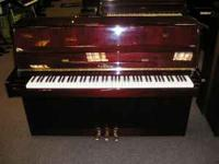 This piano was purchased new a few years ago. They sell