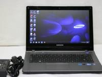 "Samsung QX411 14"" Laptop computer with AC Power"