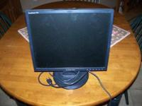 "For sale for $20, Samsung 17""Viewable Screen Monitor,"
