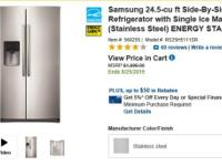 Samsung 24.5-cu ft Side-By-Side Refrigerator BRAND NEW