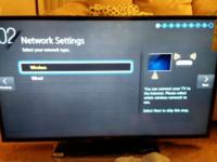 Brand new Samsung smart tv series 6. All its original