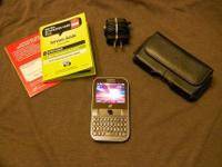 Selling a Samsung S390G straight talk cell phone with
