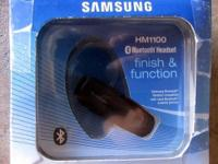 Samsung Bluetooth Headset HM1100 - New in Box Functions