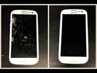 Glass Replacement galaxy s3 $75. galaxy s4 $75. galaxy