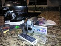 samsung sc dc164 camcorder never used in box  Location: