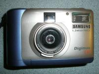 Samsung Digimax 130 Digital Camera $25 Coplete with