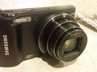 Nice practically new Samsung digital camera and video