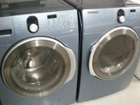 Very nice front loading washer and dryer (Nice) Blue in