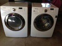 I am selling a Samsung front load washer and dryer