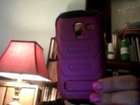 I have a Samsung Galaxy Exhibit extra battery and pink