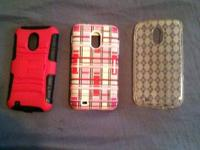 I have 3 Samsung Galaxy S2 cases for sale. One is made