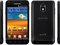 Samsung Galaxy S2 smartphones that operated on Sprint