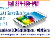 Samsung Galaxy S 3 & S4 & S5 lcd replacement. Cracked