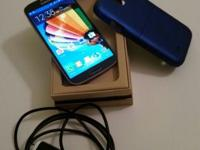 Sprint Samsung Galaxy S4 16 gig for sale (Black Mist)