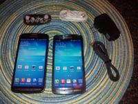 I am selling 2 Samsung Galaxy S4 Active, one is AT&T