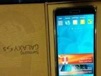 SAMSUNG GALAXY S5 BLACK 4G LTE G900A THE AT&T 16 MEGA