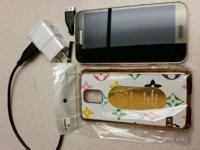 Samsung galaxy s5 gold addition. Sprint carrier which