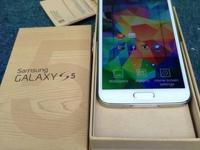 I am selling nice white color unlocked samsung galaxy