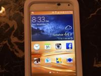 Still brand-new, a little over 2 months, Samsung Galaxy