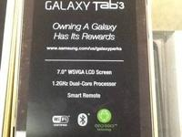 "New in the box Samsung galaxy tab 3. 7"" red or white."