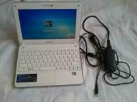 Selling a Used Samsung N210 Netbook. It is in Good