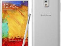 I have a t-mobile white 32GB samsung Note 3 for sale