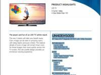"New open box Samsung UN40EH5000 40"" 1080p 120Hz LED"