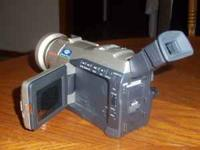 "VIDEO CAMERA FOR SALE : SAMSUNG - 2.5"" lcd monitor -"