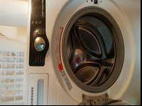 Great Samsung Washer and Dryer. Frontloaders both.