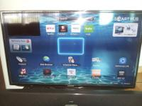 Barely used, Like NEW Samsung 40 inch Smart TV (with