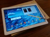 Mint condition Samsung Galaxy Note 10.1 2014 tablet