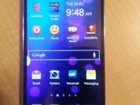 Samsung Galaxy S4 with 16gb of internal storage and a