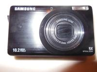 SAMSUNG SL420 DIGITAL CAMERA HAS 10.2 MEGA PIXELS AND