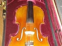 SV300 model Samuel Shen Violin 4/4 (full) size in