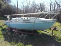 1977 San Juan Sail Boat, 21 ft., Gabbiano. 3 great