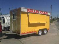 VENDING TRAILERS : VENTHOOD 8 FT. EXAUST FAN... FRYER ,